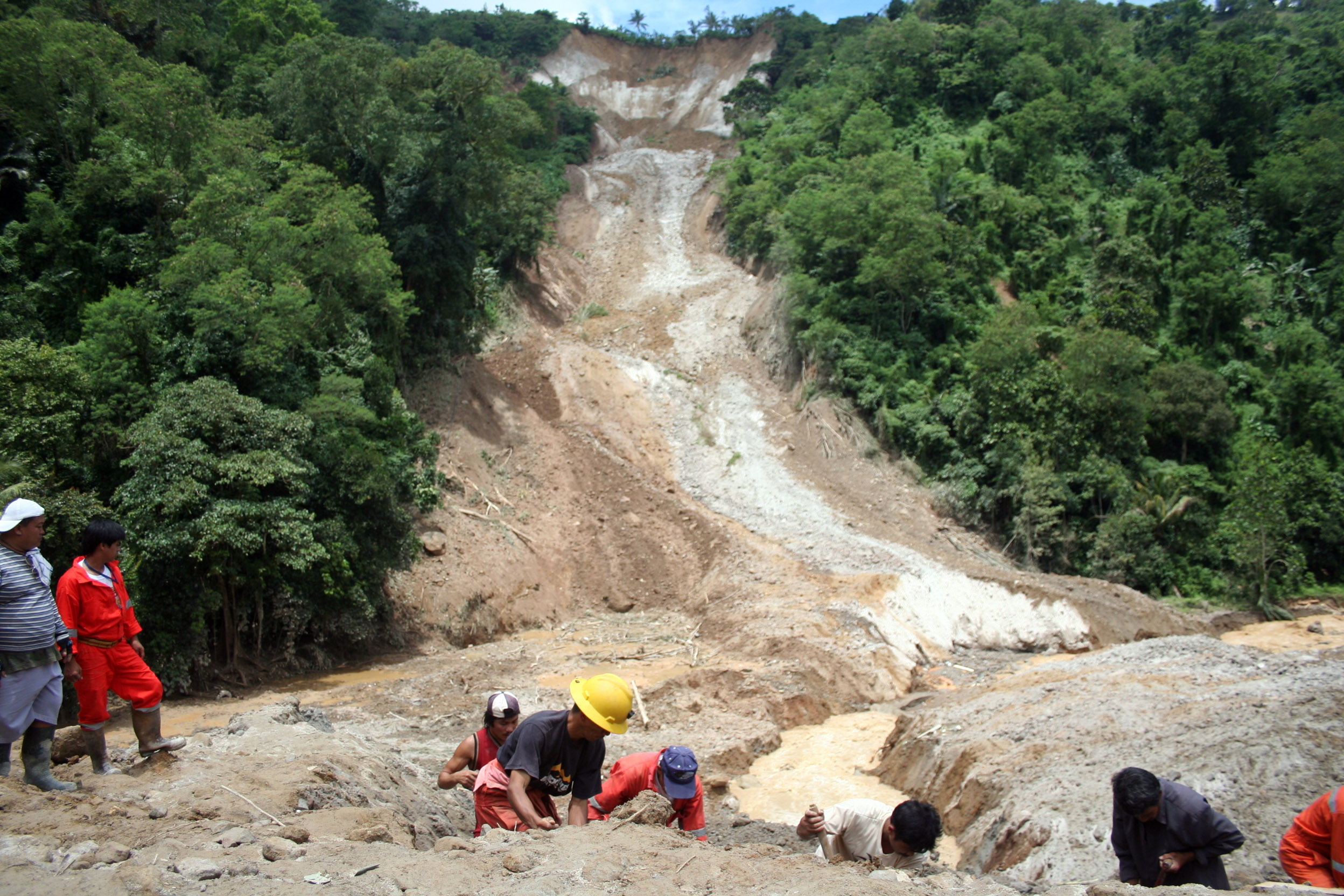 Deadly landslides.