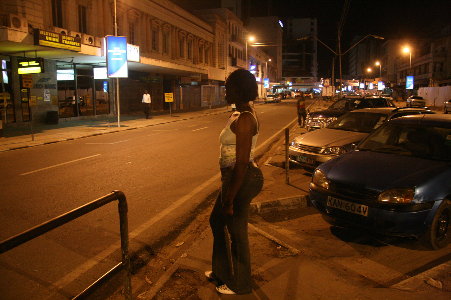 Maureen is a sex worker in the coastal city of Mombasa, in Kenya.