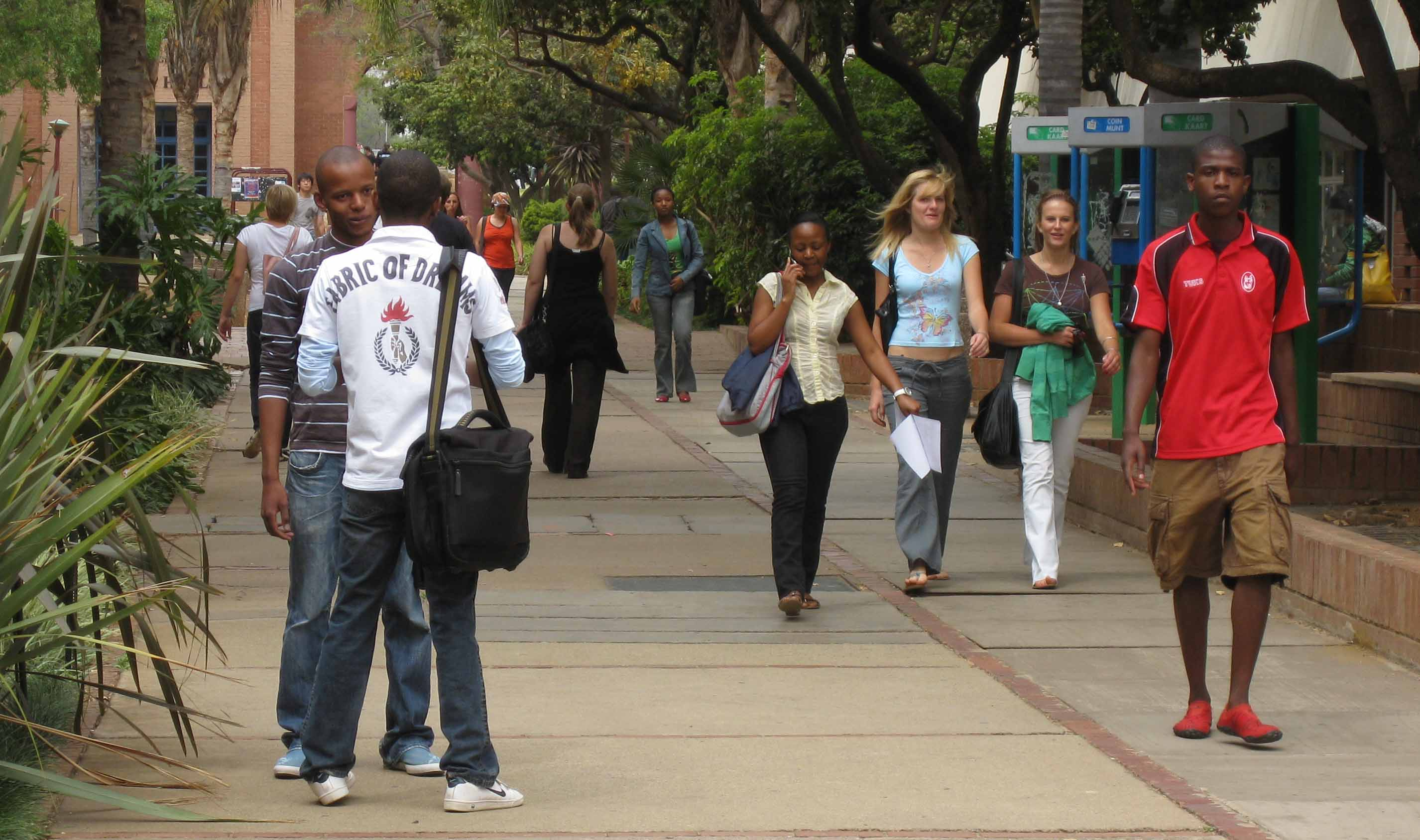 IRIN | Low HIV prevalence rates on campus