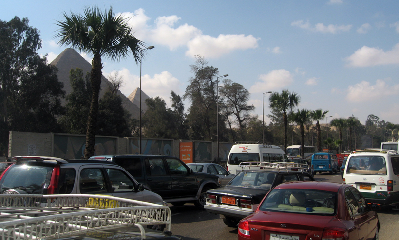 Vehicle emissions are responsible for 23 percent of Cairo's pollutants.