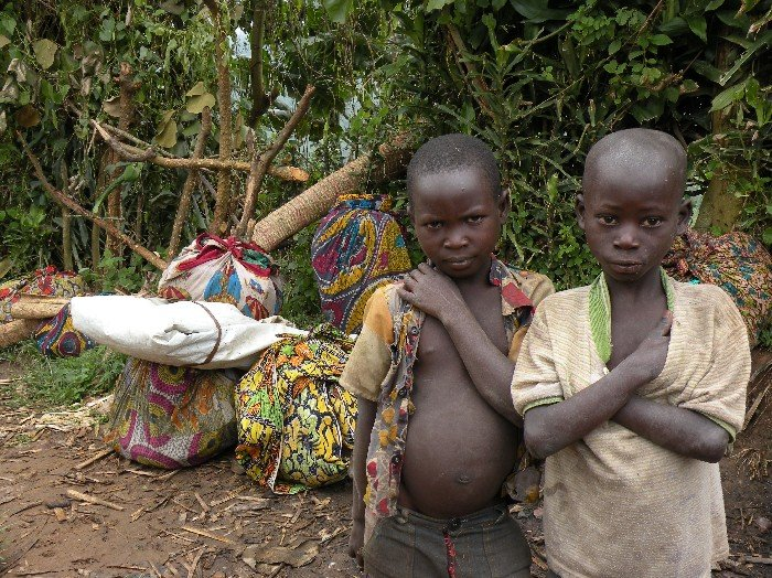 Refugees have continued fleeing the Democratic Republic of Congo's war-torn eastern province for neighbouring Uganda.
