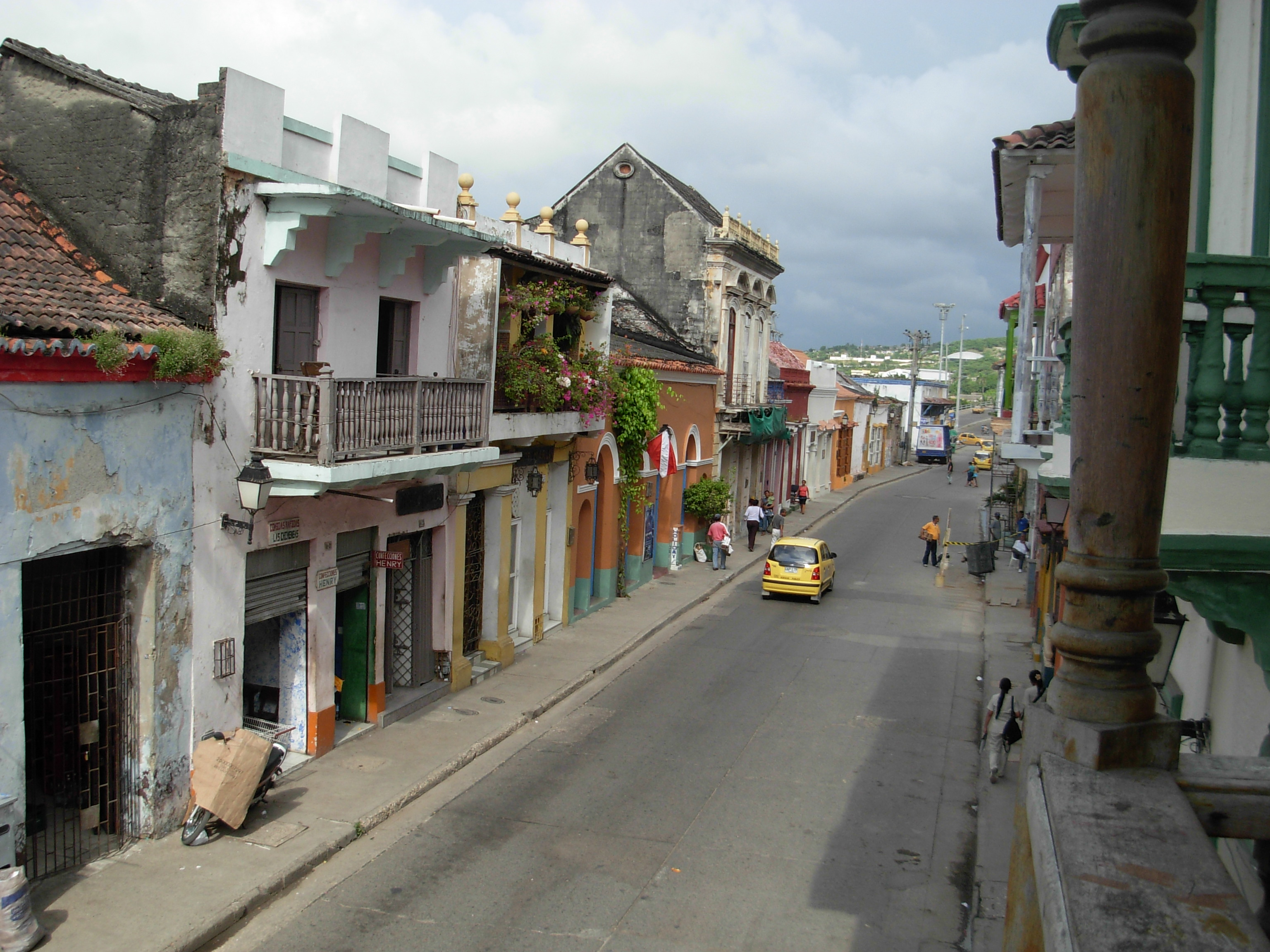 Cartagena's red-light district