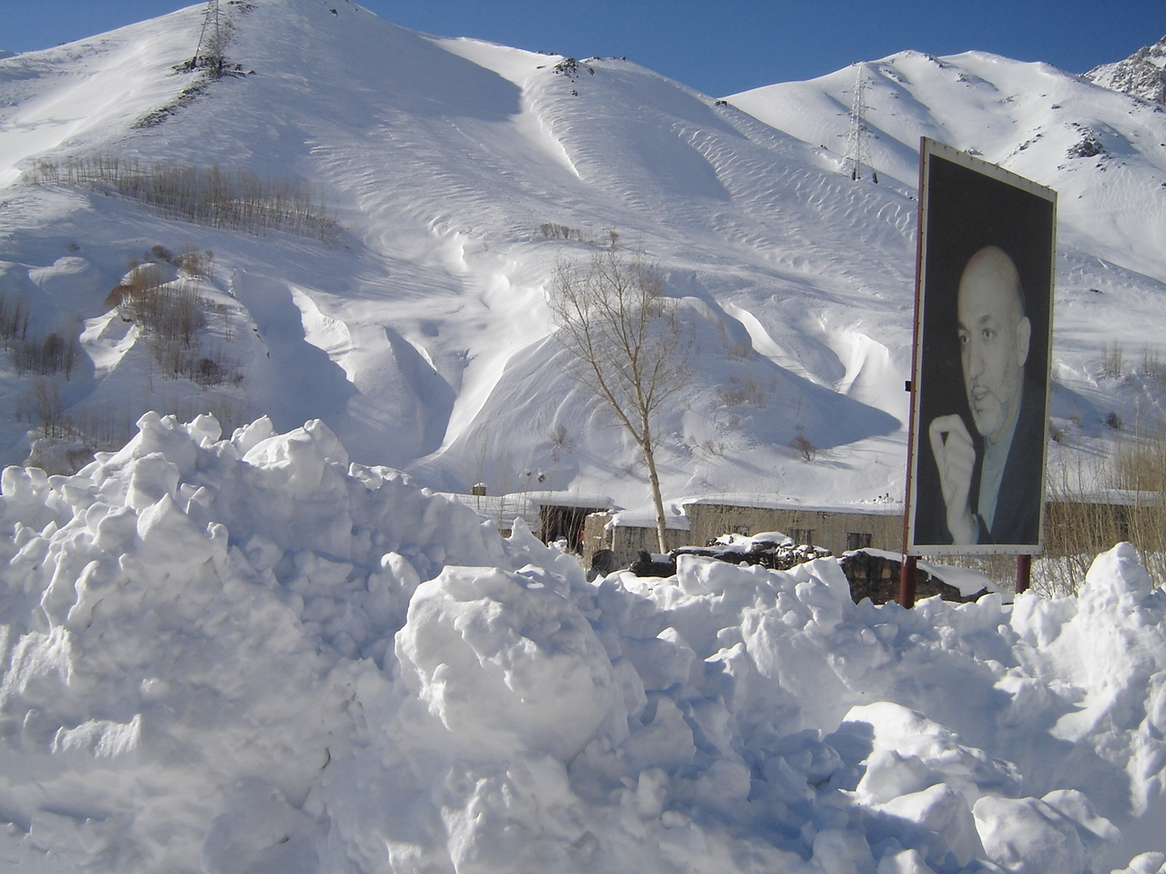 Heavy snows often block access to different parts of Afghanistan and impede medical and food aid delivery