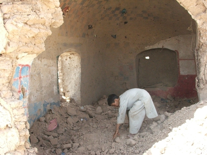 The UN and the Afghan Government said some 90 civilians, among them 60 children, were killed during aerial bombing on Azizabad village in Herat province on 22 August 2008