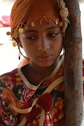 Tuareg girl in Niger's Air Mountains