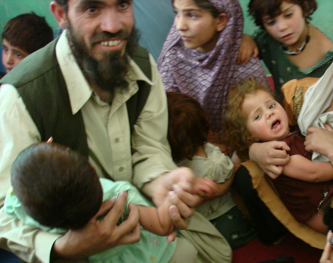 31 polio cases were confirmed in Afghanistan in 2008