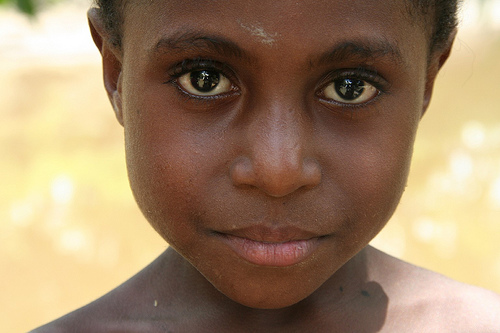 Papua New Guinea girl