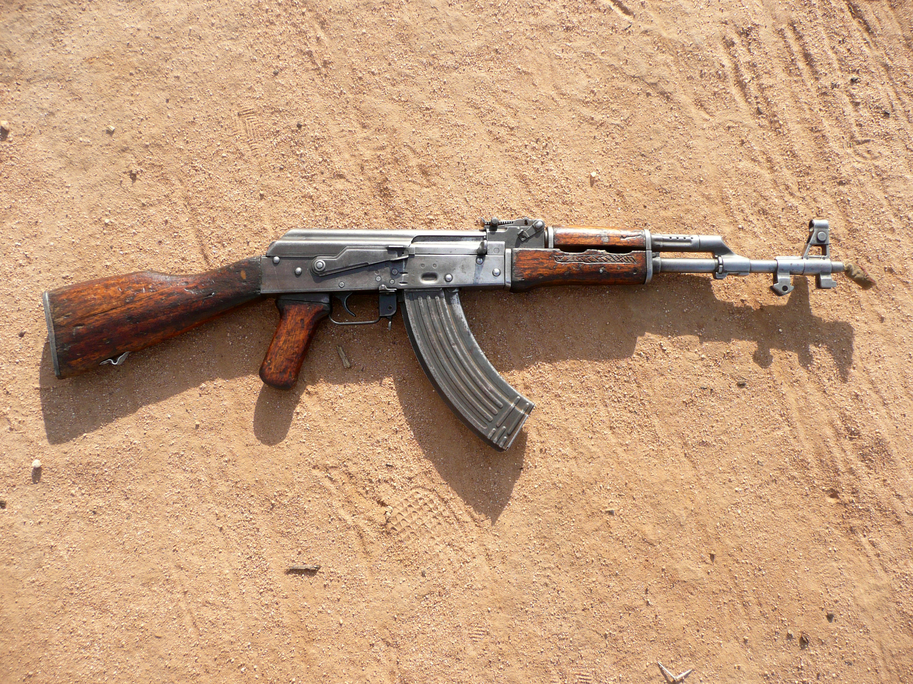 AK-47s are commonplace in Karamoja