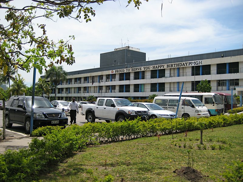 Port Moresby General Hospital is Papua New Guinea's best hospital