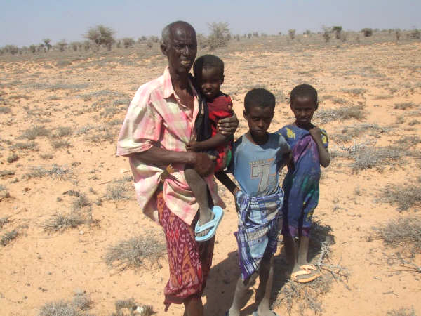 This family has lost all their livestock to the drought