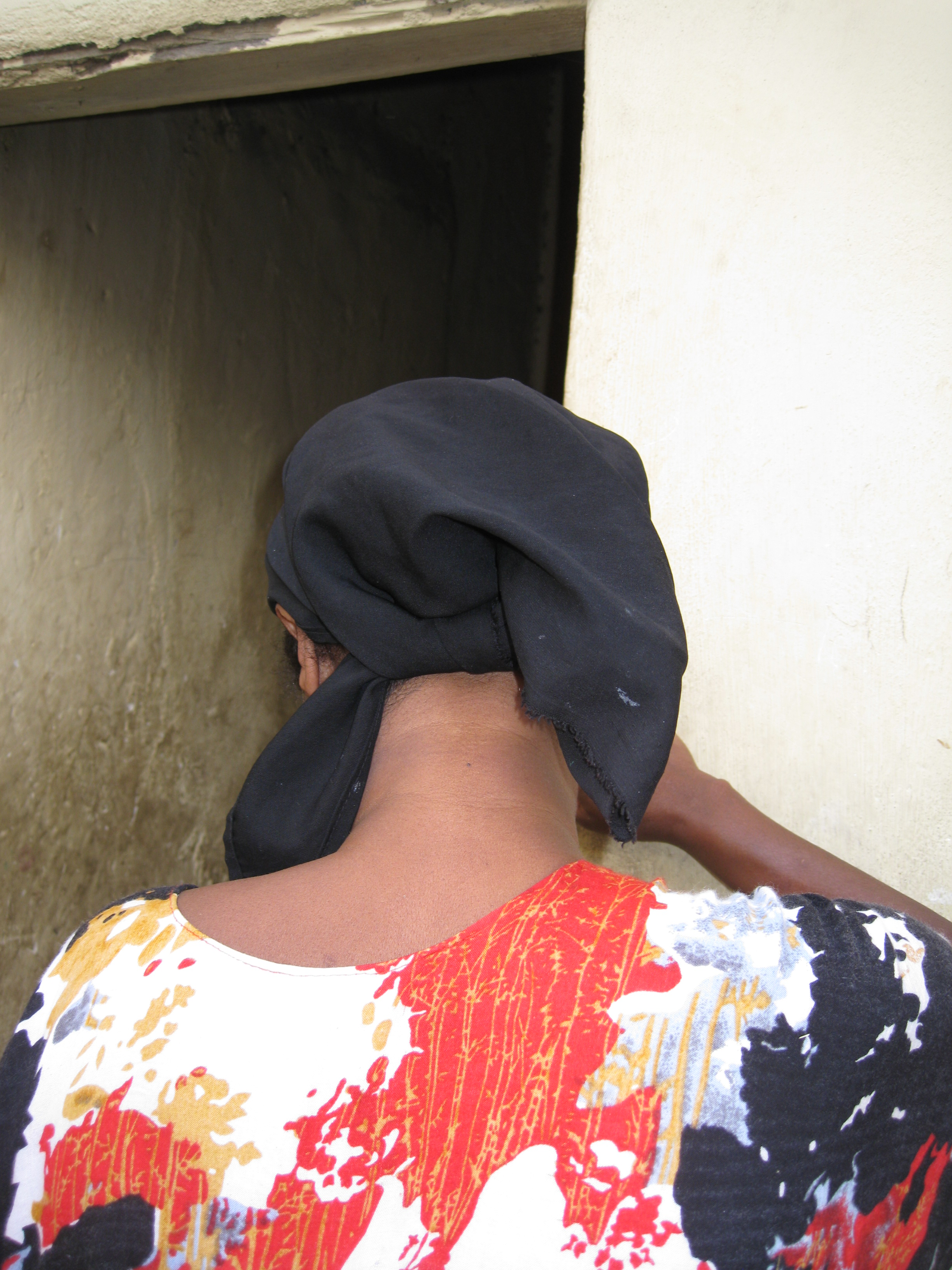 A commercial sex worker in Hargeisa, capital of the self-declared republic of Somaliland in the northwest of Somalia