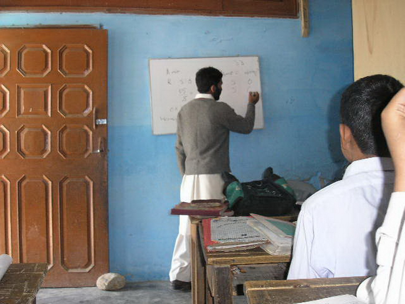 The placement 300 young teachers is affected by the peace deal in Swat Valley