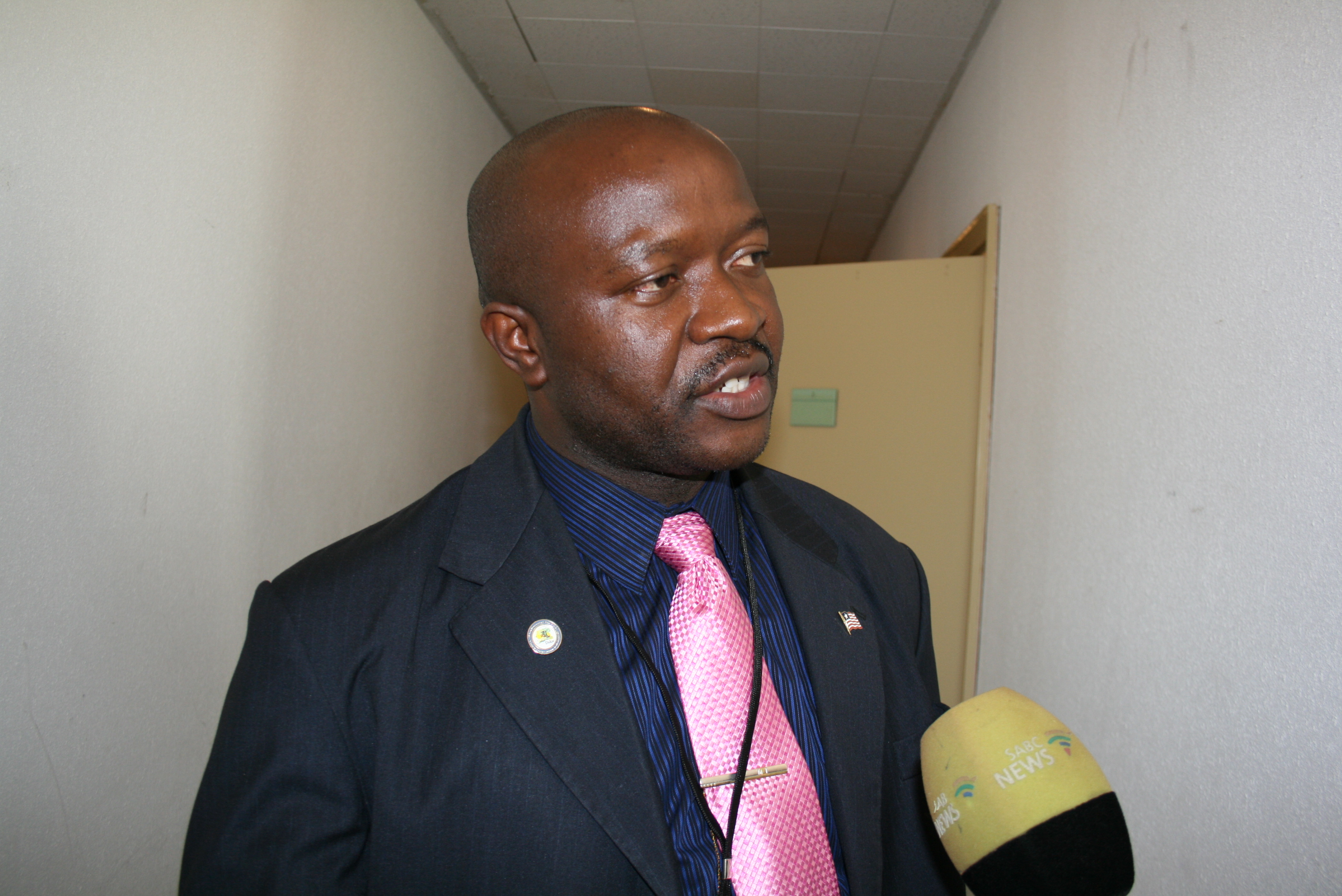 Liberia Finance Minister Augustine Nganfuan