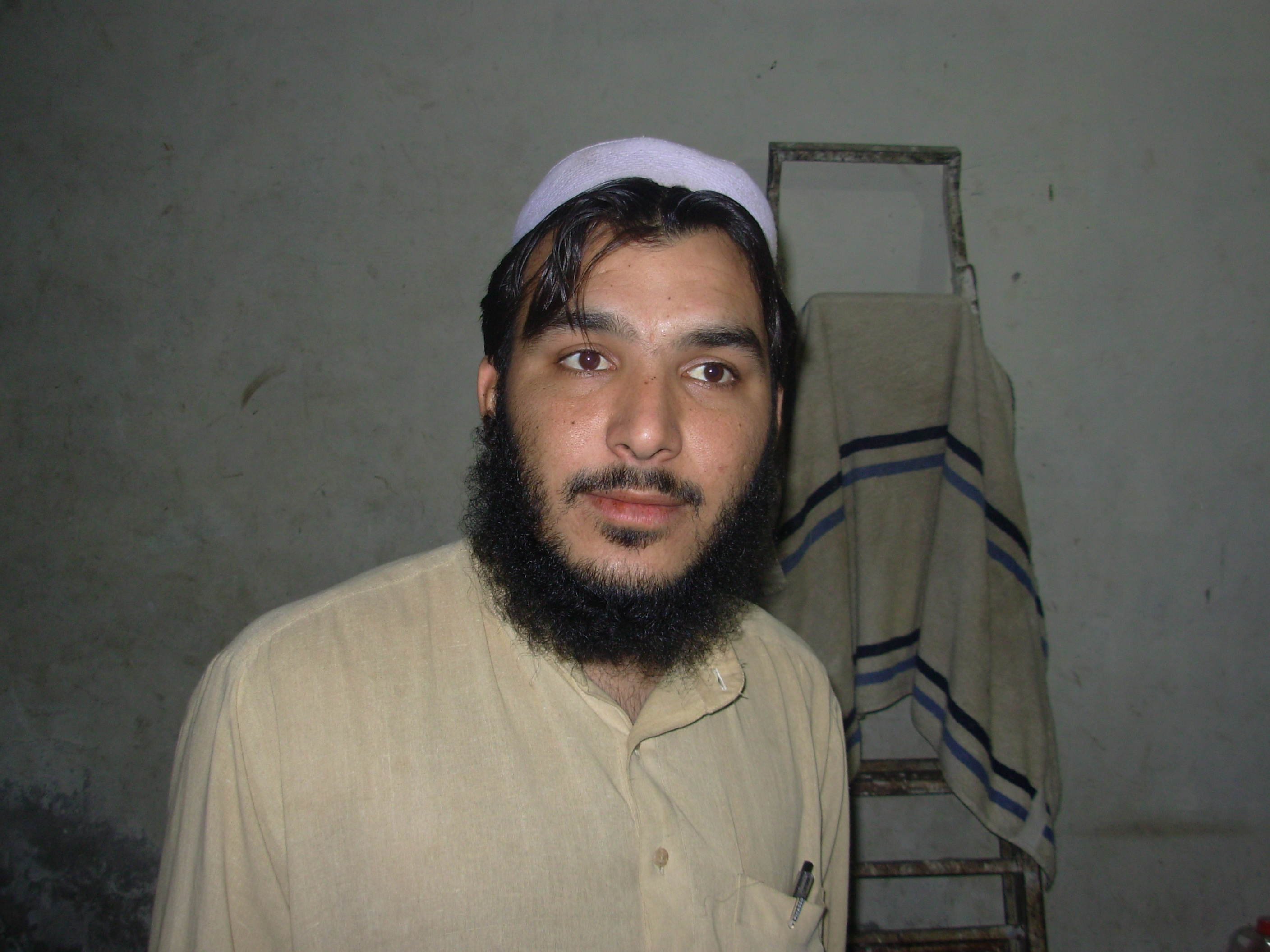 Ahmed Gul, an Afghan refugee in Lahore, Pakistan, is worried about his future