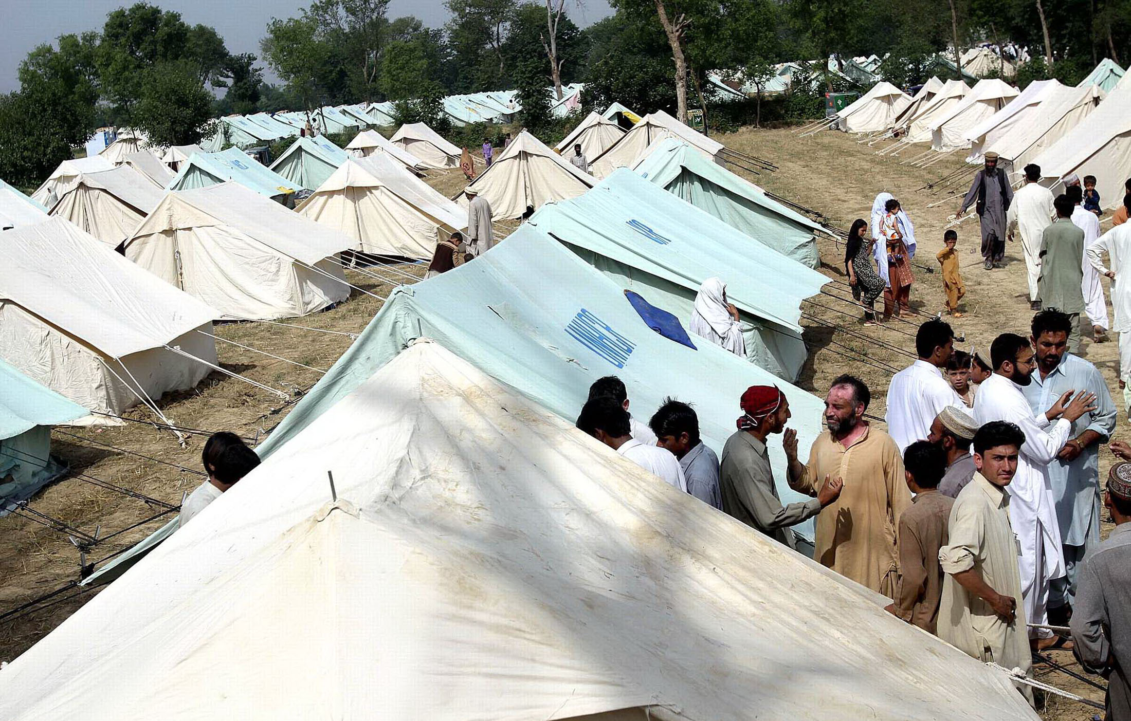 Better housing conditions are a key priority for IDPs in camps