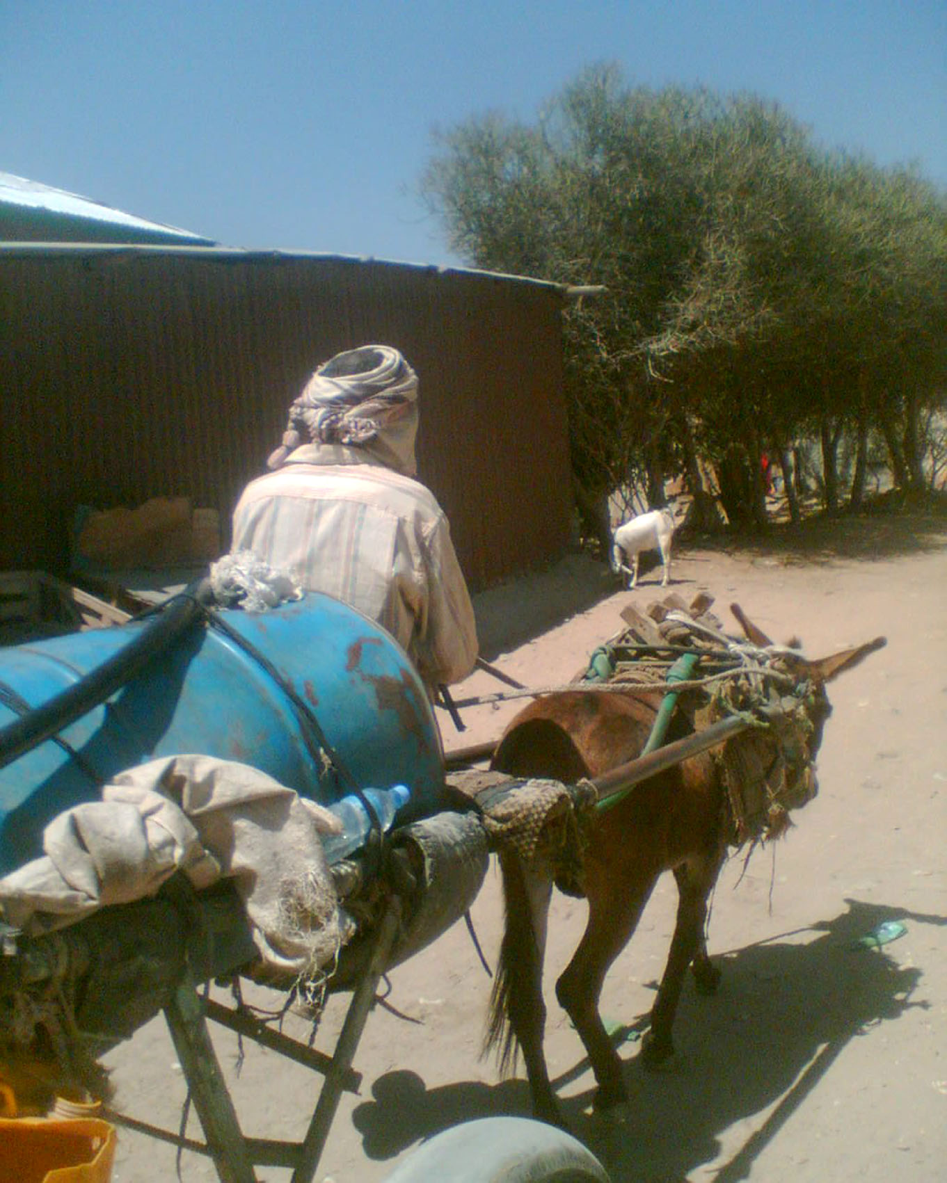 A water vendor in Hargeisa, capital of Somalia's self-declared republic of Somaliland