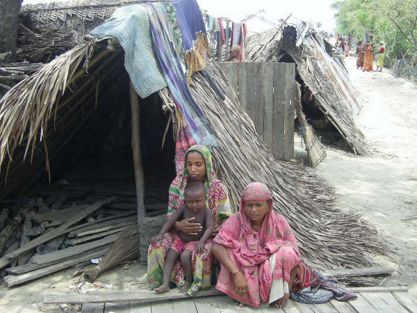 Many Aila victims will likely not be able to return to their homes before the end of the monsoon rains in late september