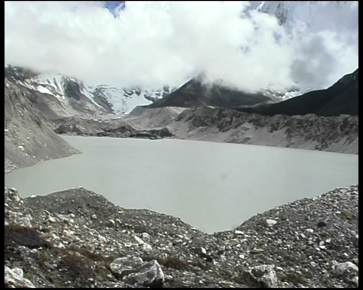 Glaciers in the Himalayas are receding faster than anywhere in the world