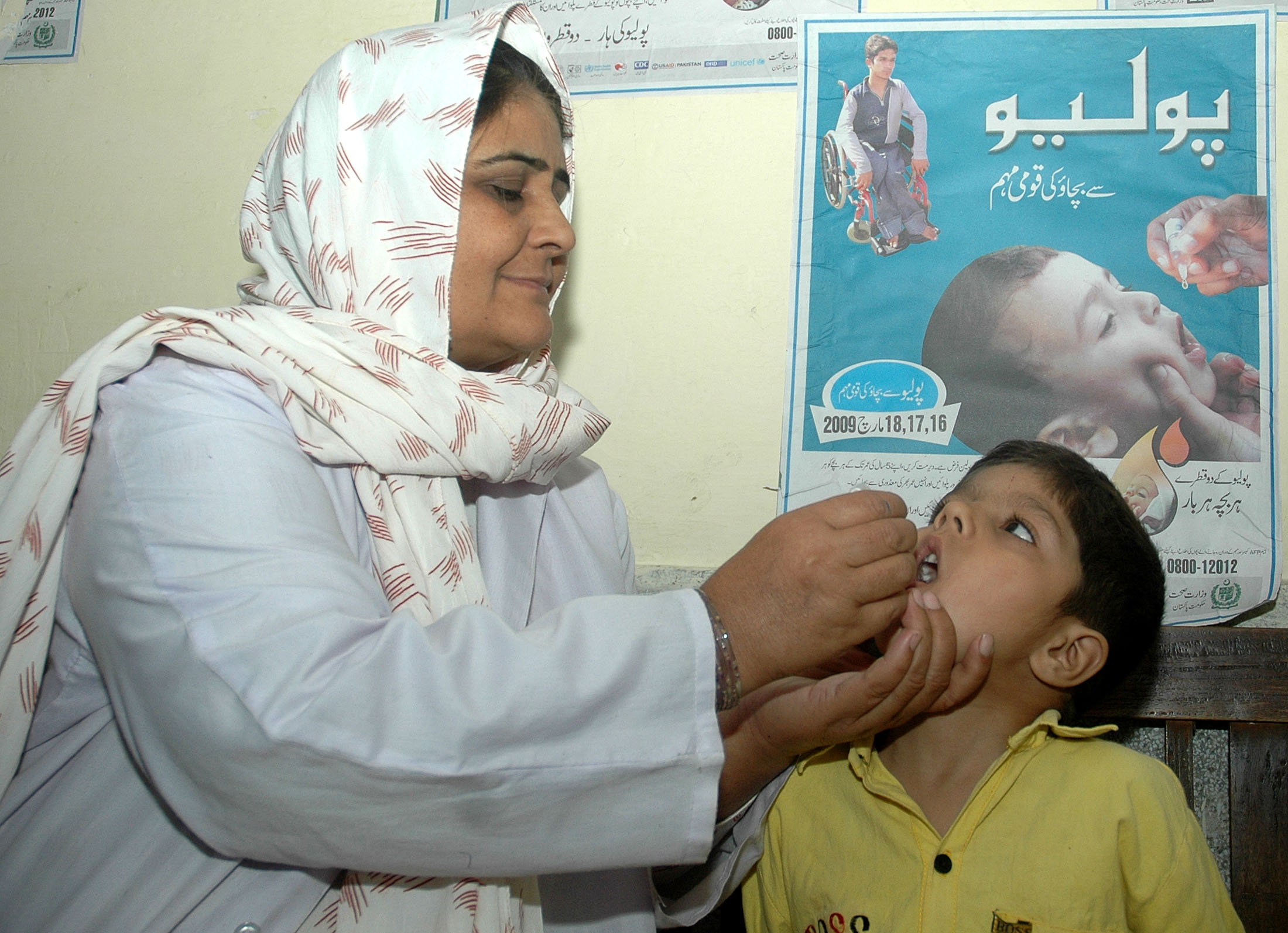 It is vital that every child be reached for polio vaccinations