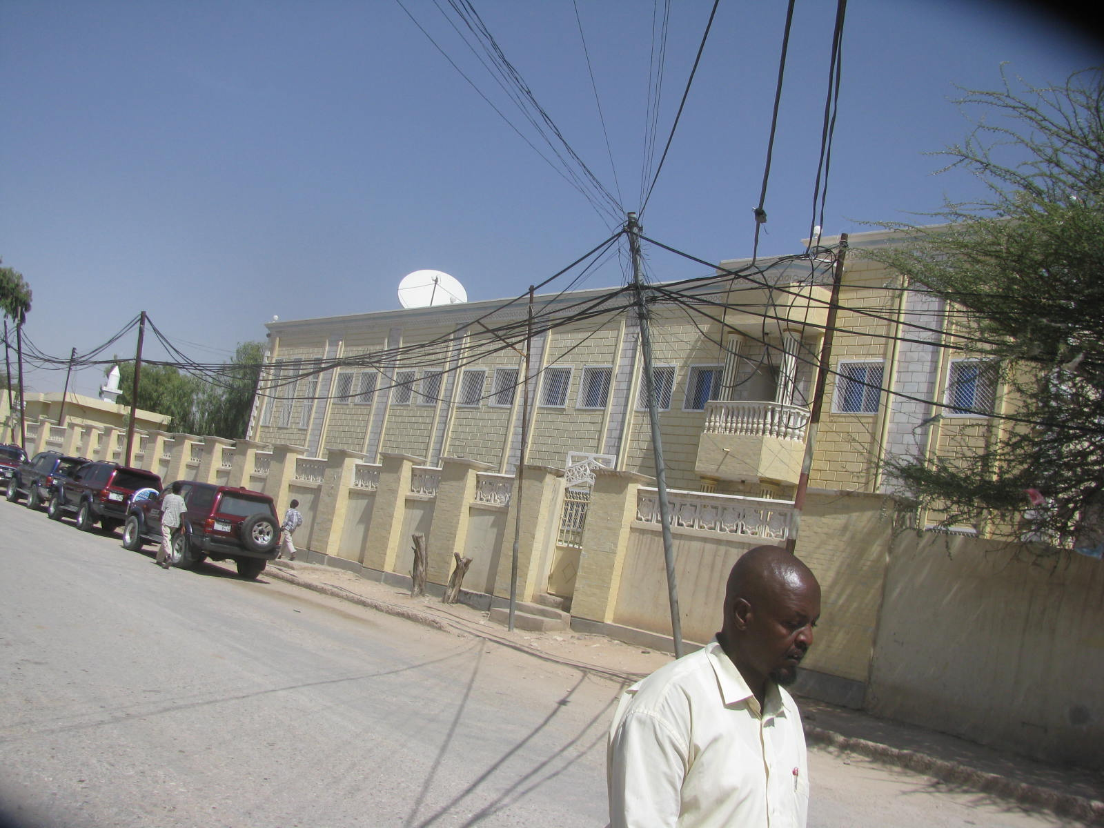 A Street in Hargeisa, capital of the secessionist territory of Somaliland