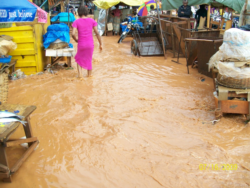 Floods in northern Nigeria 2009
