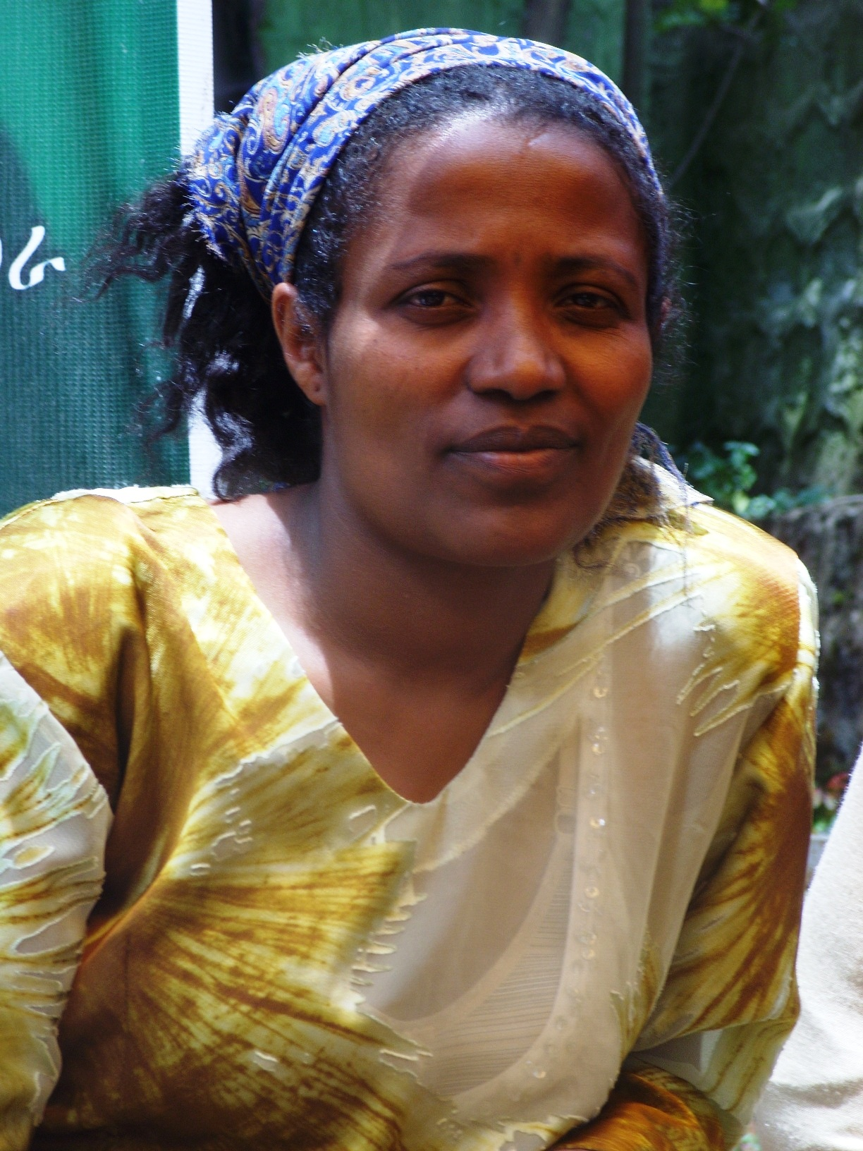 Tsehay Tura, a domestic worker in Addis Ababa living with HIV