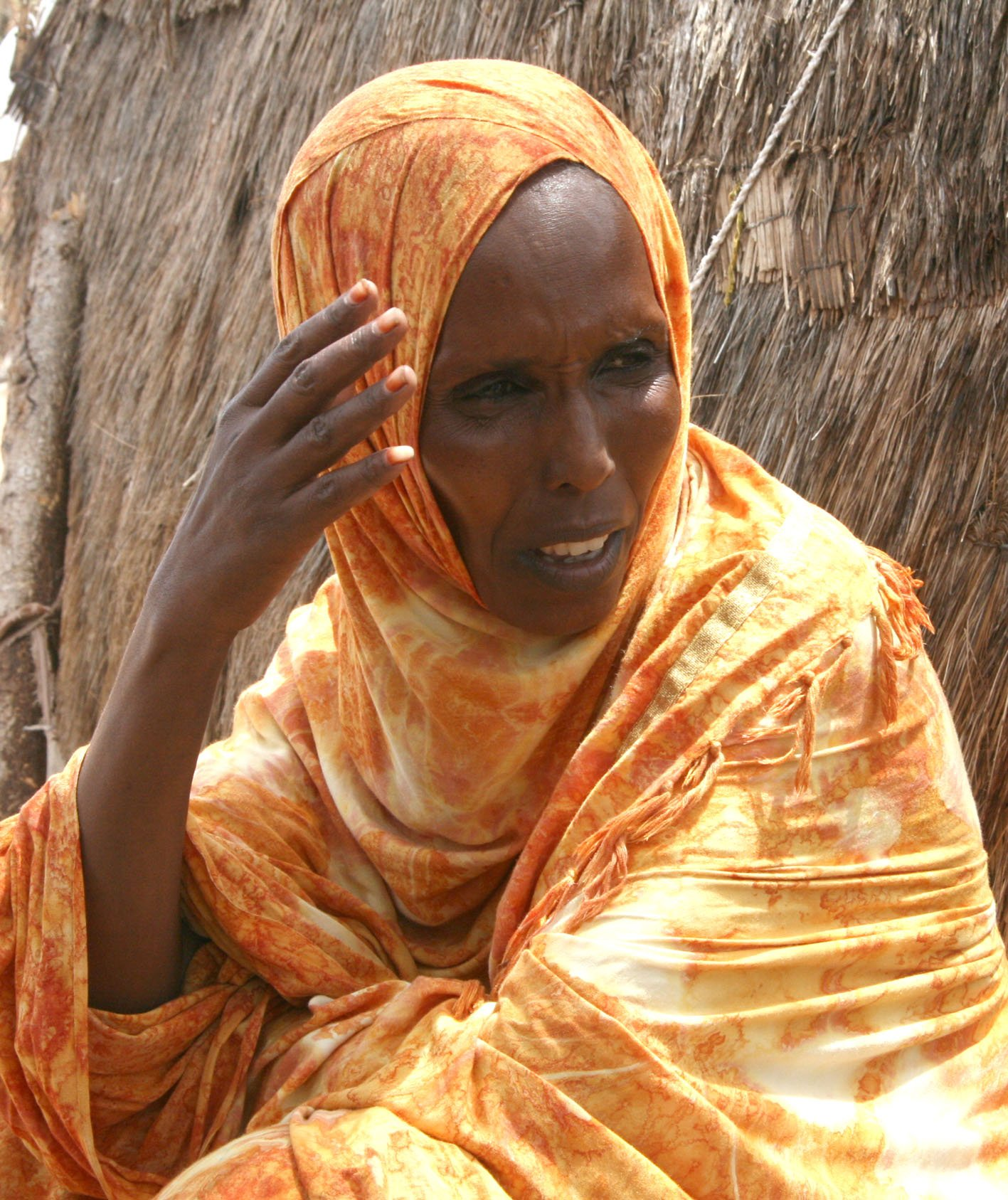 Khadijah Ibrahim is a mother of six and a resident of Wajir East District in Kenya's Northeastern Province. Her family is still feeling the effects of a prolonged drought there despite the respite brought on by El-Nino related rains. A lack of pasture m