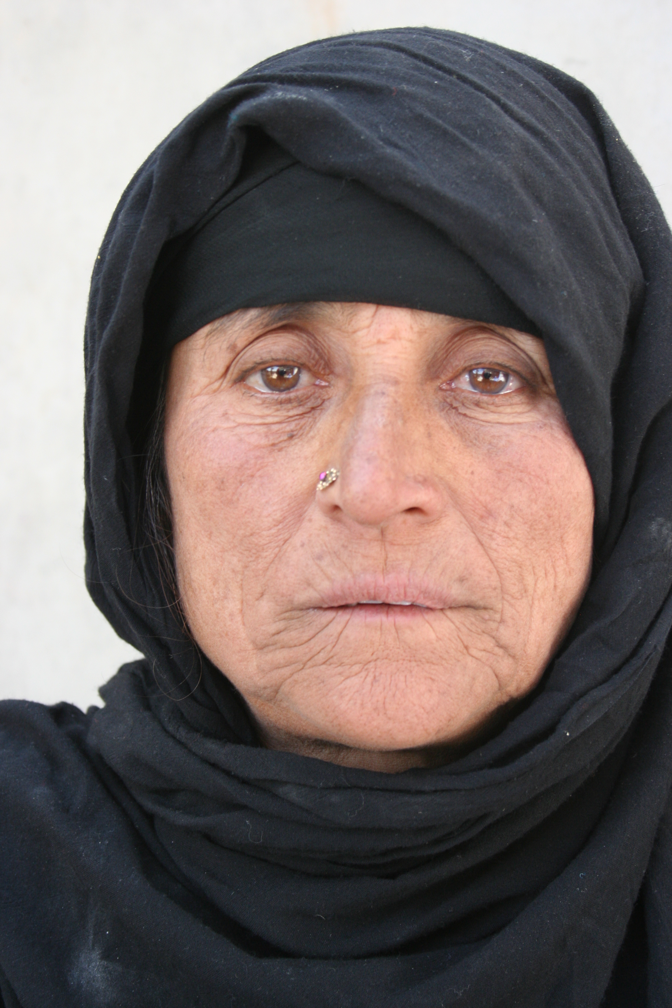 Shahid Gula lost her husband in an airstrike in 2003. She supports nine family members