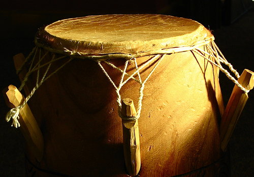 African drum