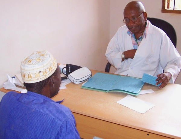 Elias Sempindo, 72, has come out of retirement to return to work as a medical officer in Morogoro, Tanzania. This is part of a pilot programme to help fill gaps in the health system. Tanzania has just 0.02 doctors per 1,000 people