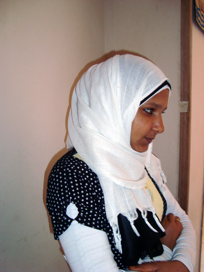 Aya Abdel Aati, 17, was circumcised at the age of 12