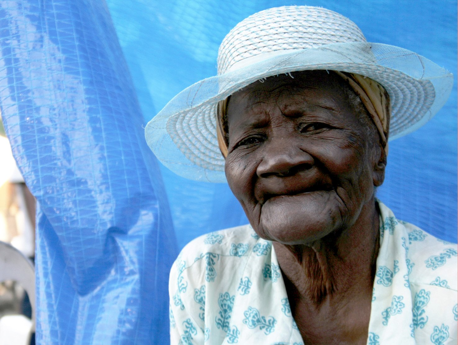More than 200,000 elderly people were affected by the January 2010 earthquake in Haiti