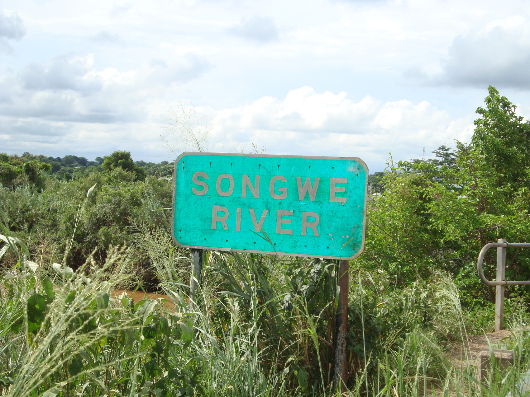 Songwe river on the Tanzania-Malawi border, where most Ethiopian immigrants cross into Malawi on their way to South Africa