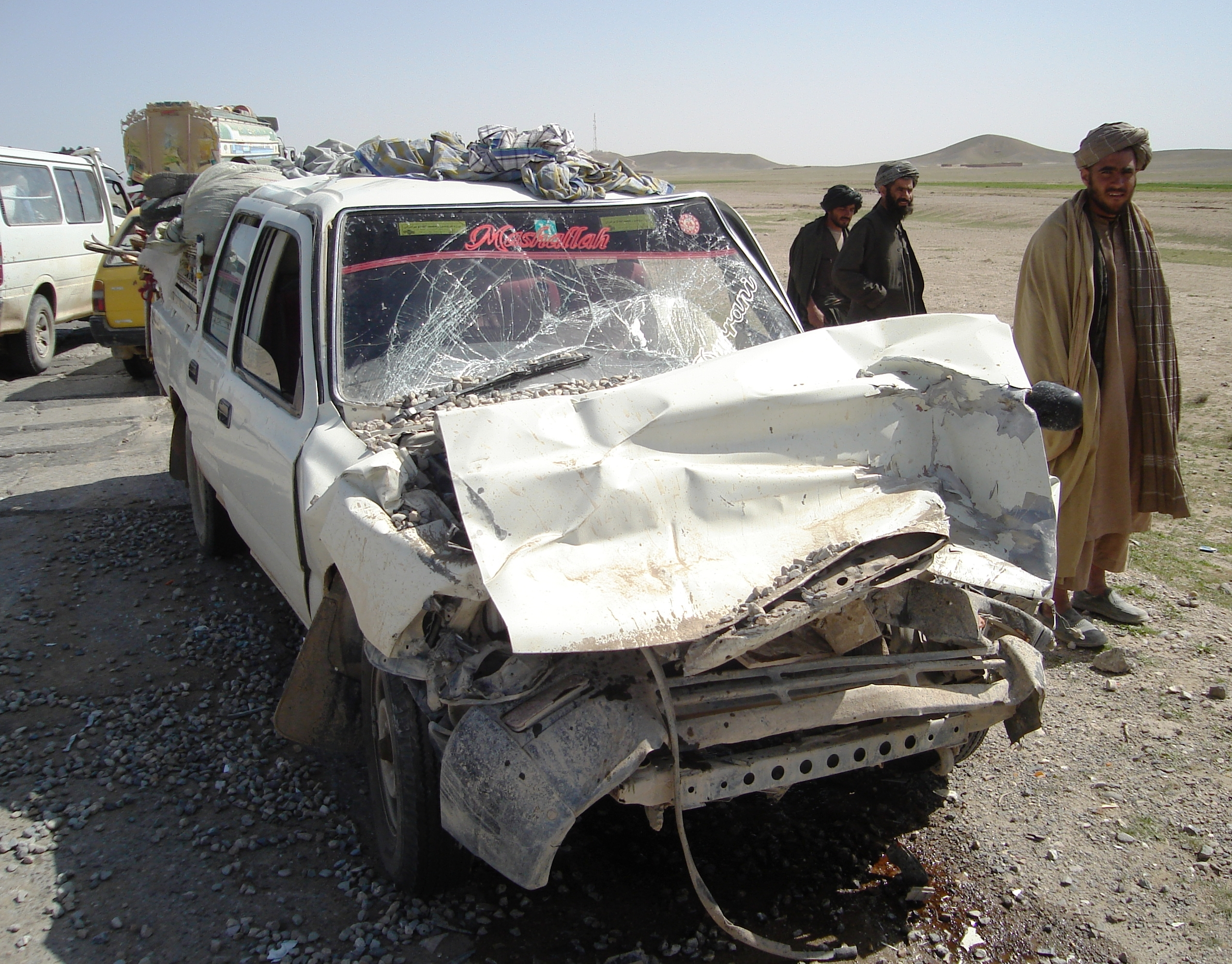 Roadside bombs and mines inflict heavy harms on civilians in Afghanistan