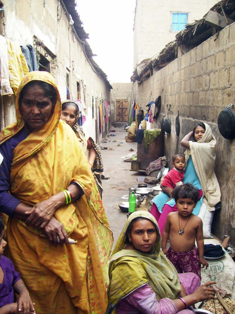 The living quarters of Bengalis in Machar Colony, Kiamari Town in Karachi, Sindh, Pakistan