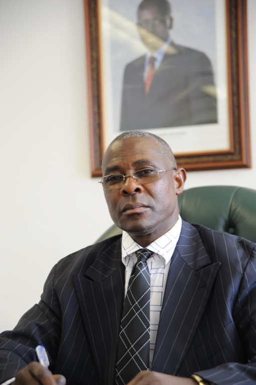 Antonio Bento Bembe, Angola's secretary of state for human rights and former leader of the Cabinda separatist rebel movement FLEC