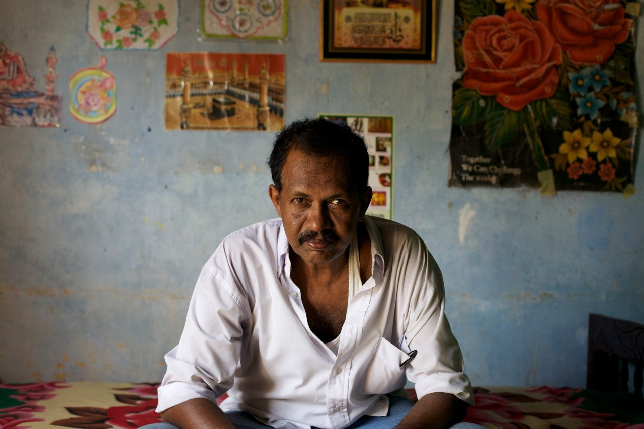 Mohammed Yassin, a 55-year-old Muslim father of three who returned to Jaffna in 1996 from Puttalam