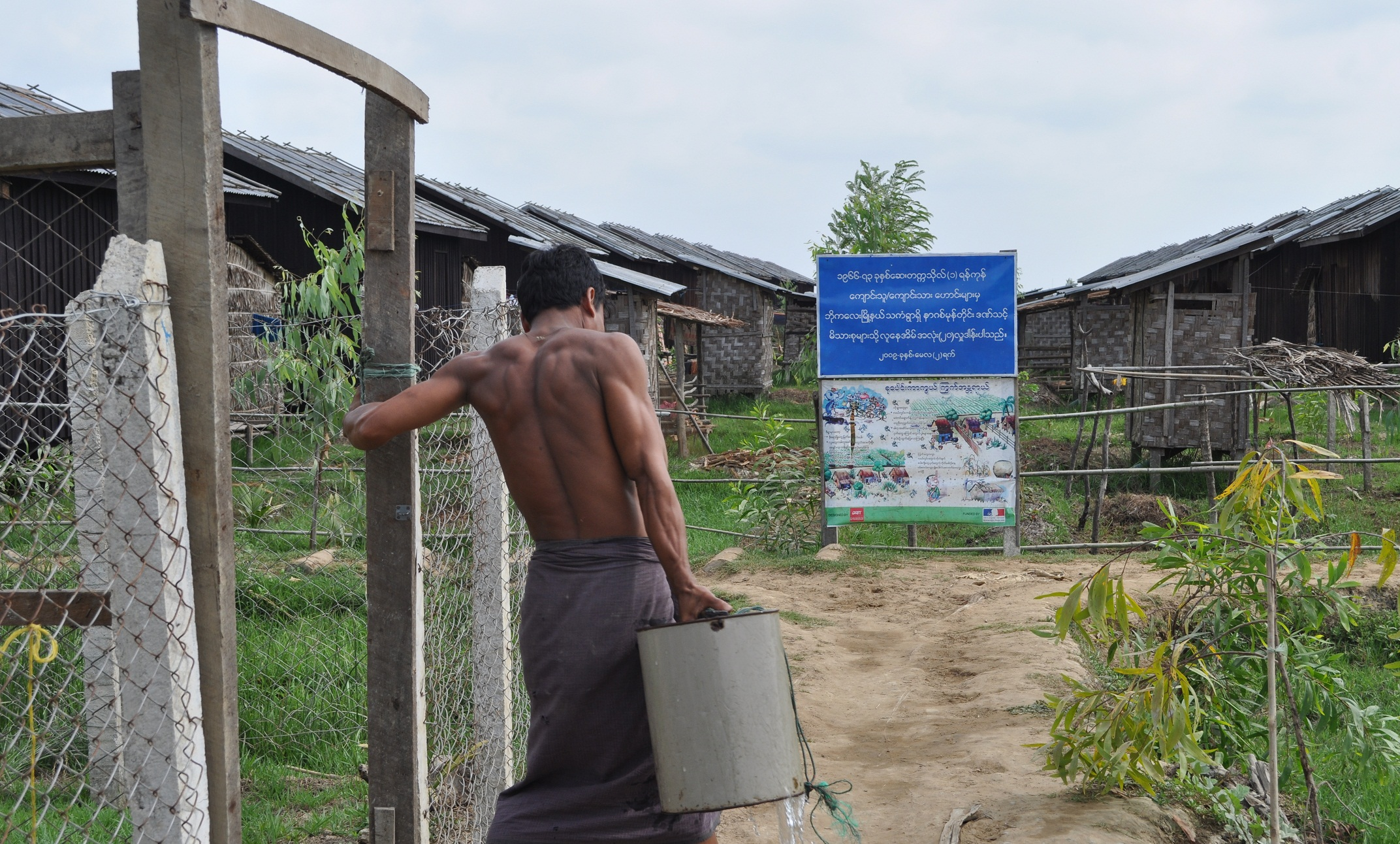 irin coping water scarcity in the ayeyarwady delta photo mon mon myat irin
