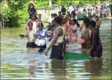 More than 500,000 people were affected by the rains