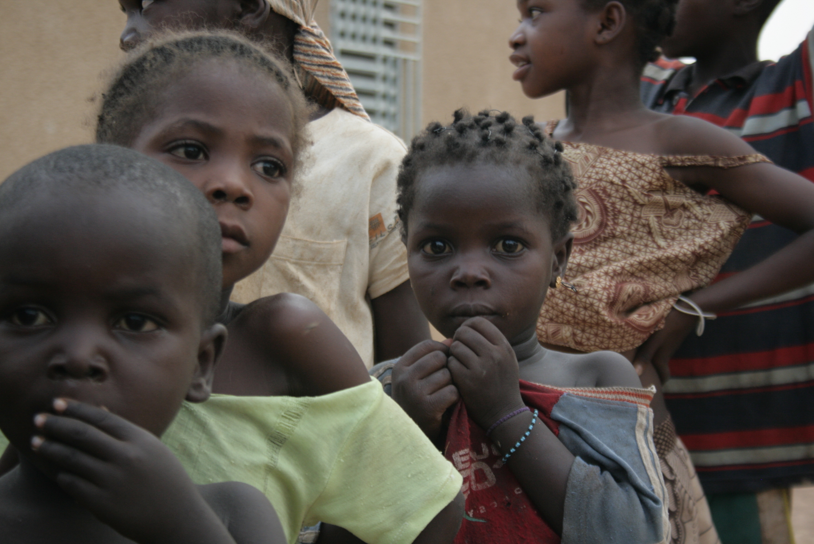 Children in Burkina Faso