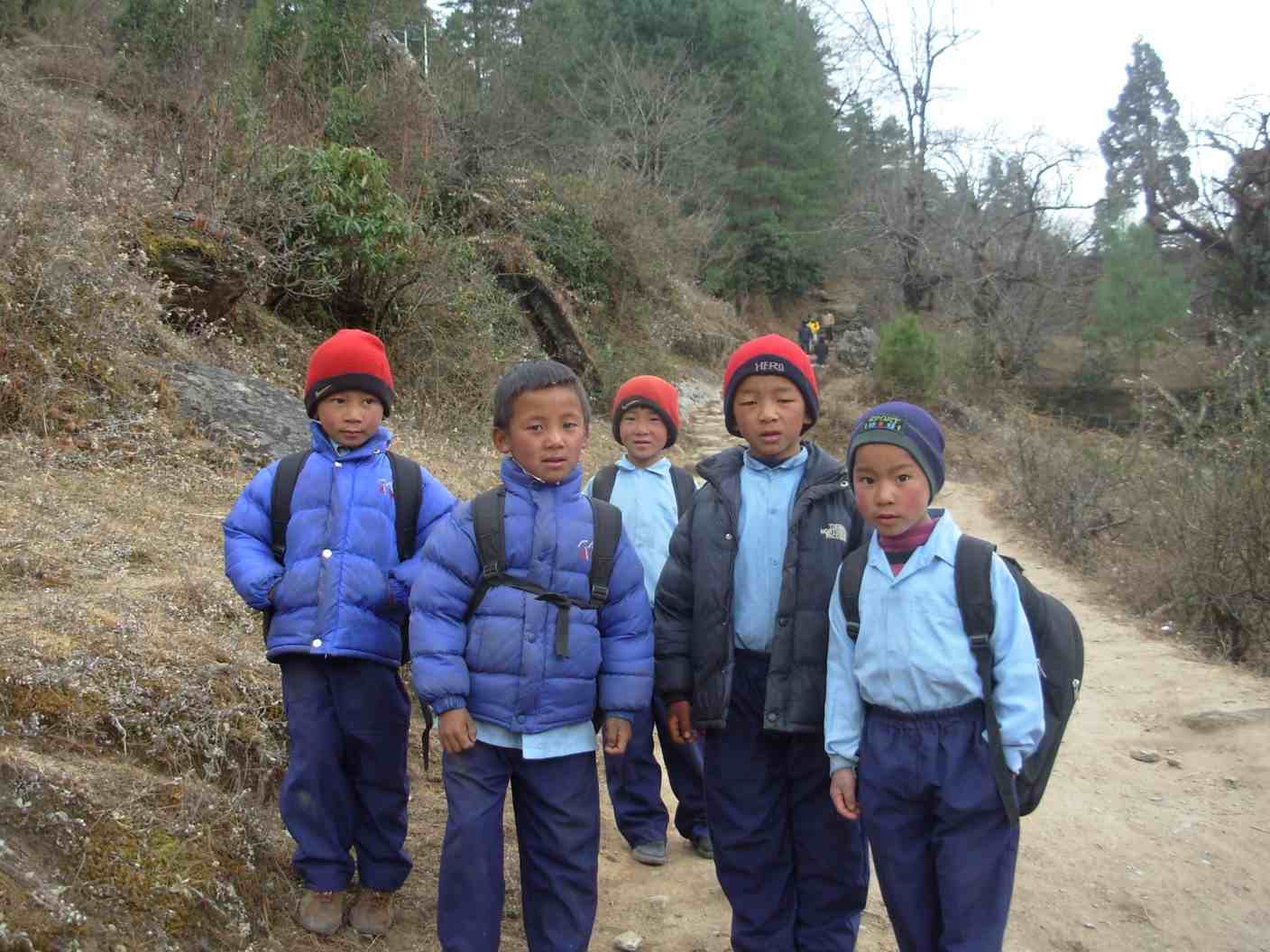 The marginalised Janjati children in the mountains rarely make it to grade two due to poverty