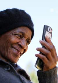 Mobile phones can be used as humanitarian tools