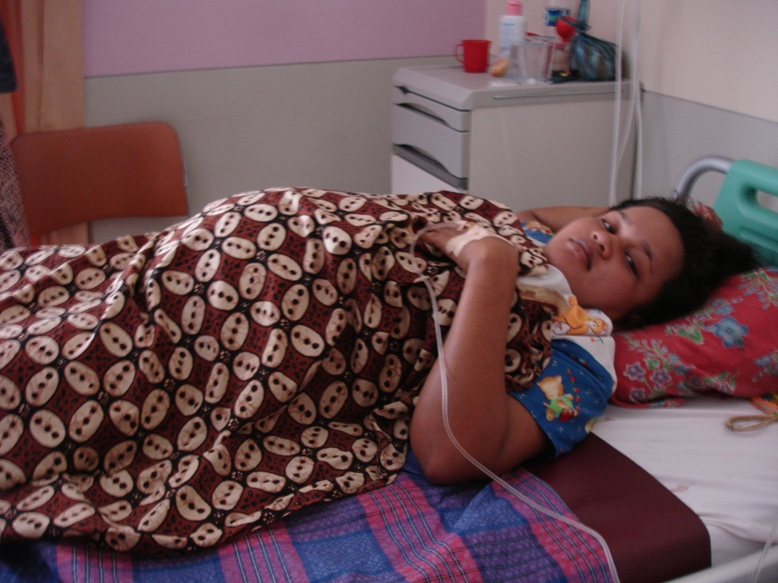 Only 5 percent of Indonesia's 5 million poor pregnant women receive government assistance for deliveries