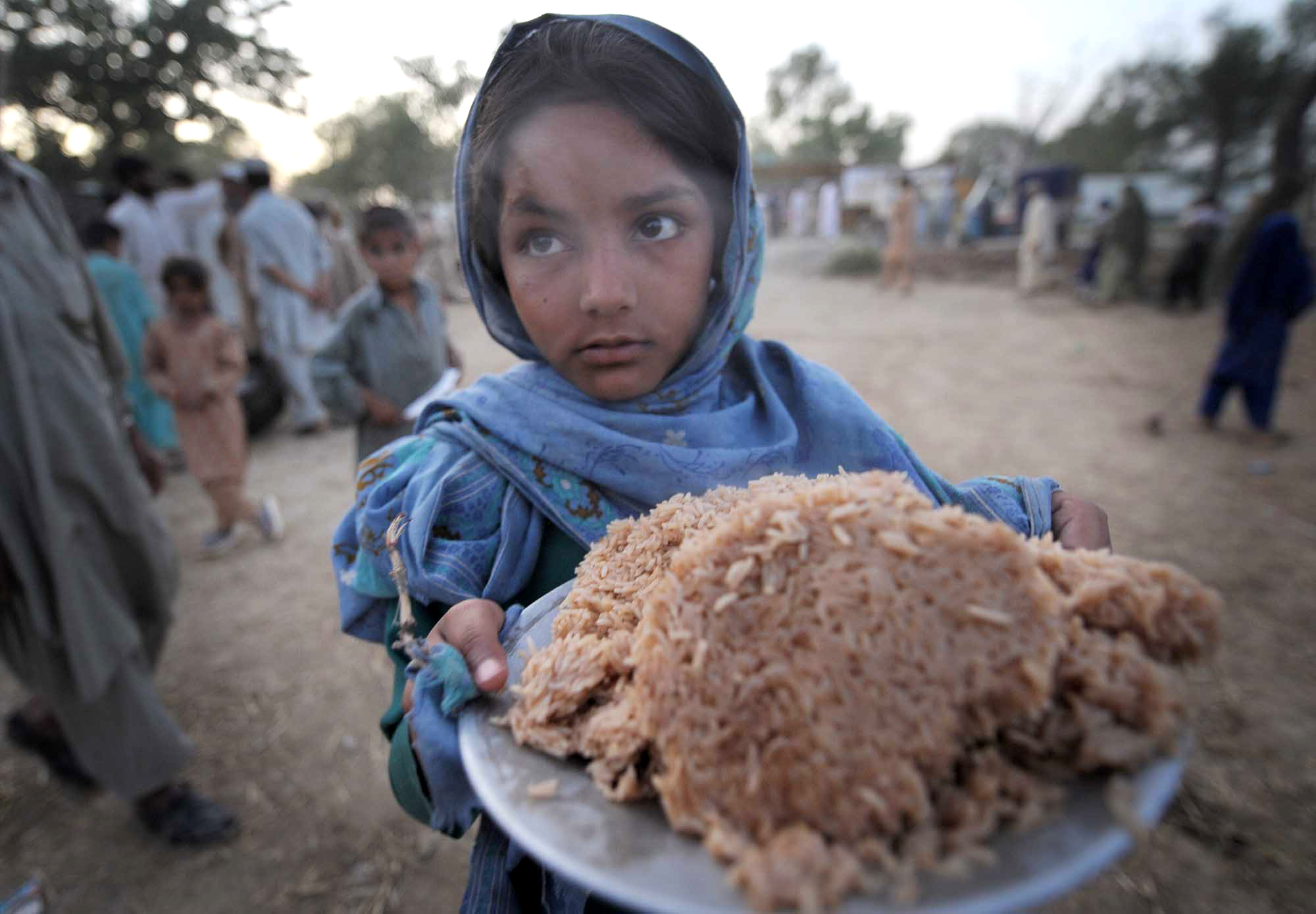 Food scarcity during Ramadan exacerbated by floods threatens thousands of poor people in Pakistan