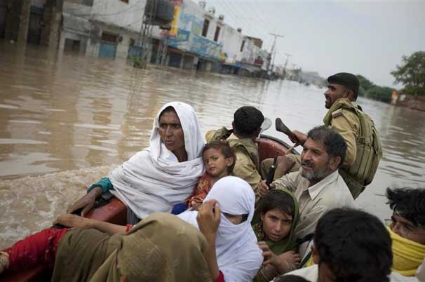 Victims of Pakistan's 2010 floods