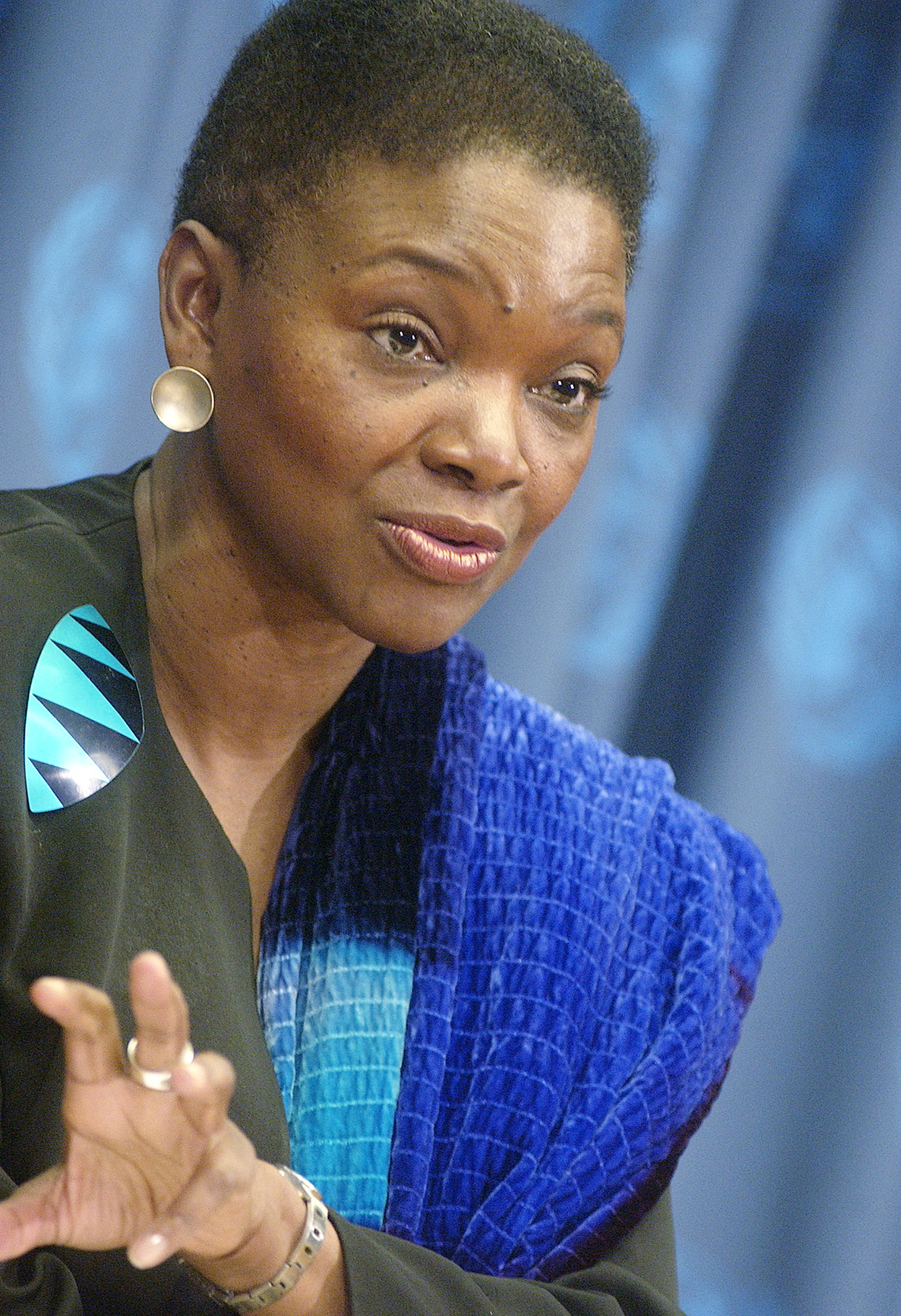 Valerie Amos, Under-Secretary-General for Humanitarian Affairs and Emergency Relief Coordinator