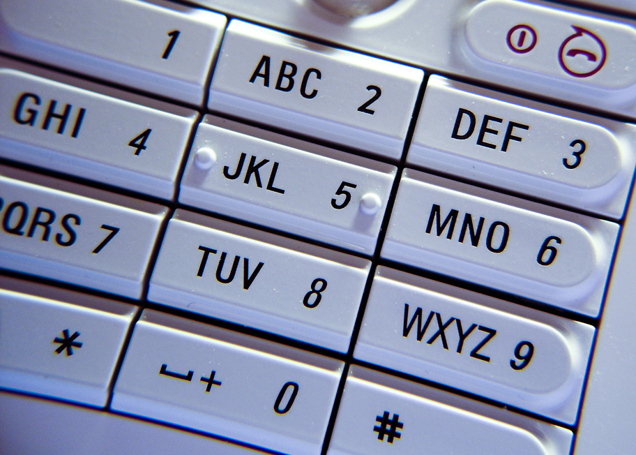 mobile phone keypad. For generic use