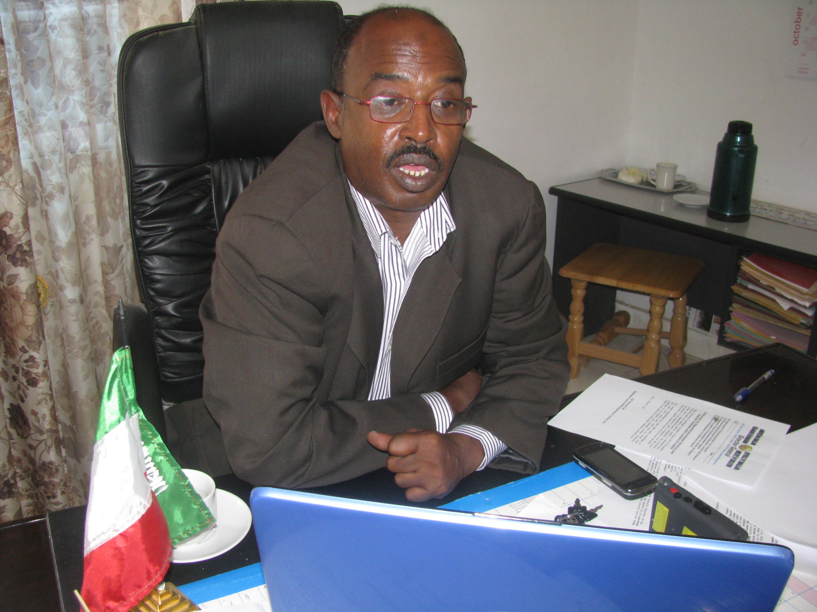 Ali Mohamed Ali, the director-general of Somaliland's Education Ministry