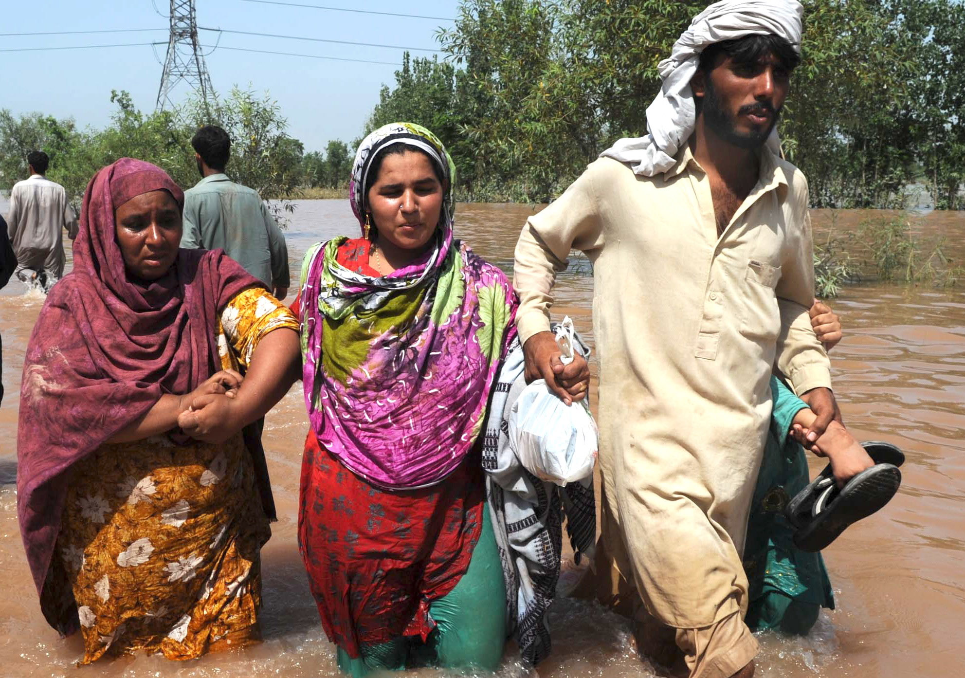 Women have faced huge difficulties in rebuilding lives after returning to flood hit areas in Pakistan