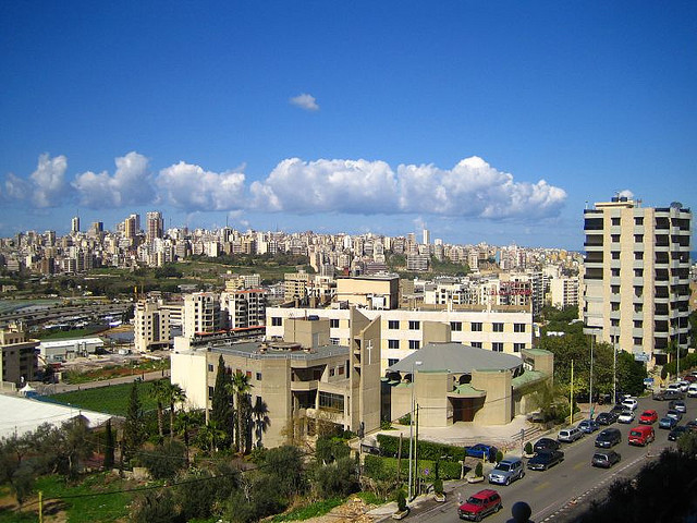 Beirut skyline. For generic use